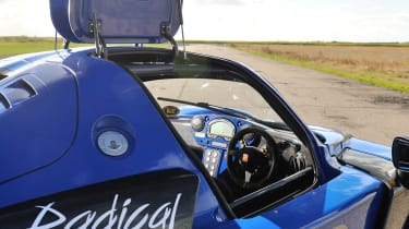 Radical RXC gullwing doors