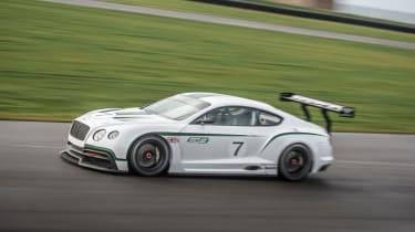Bentley Continental GT3 concept at the Paris show