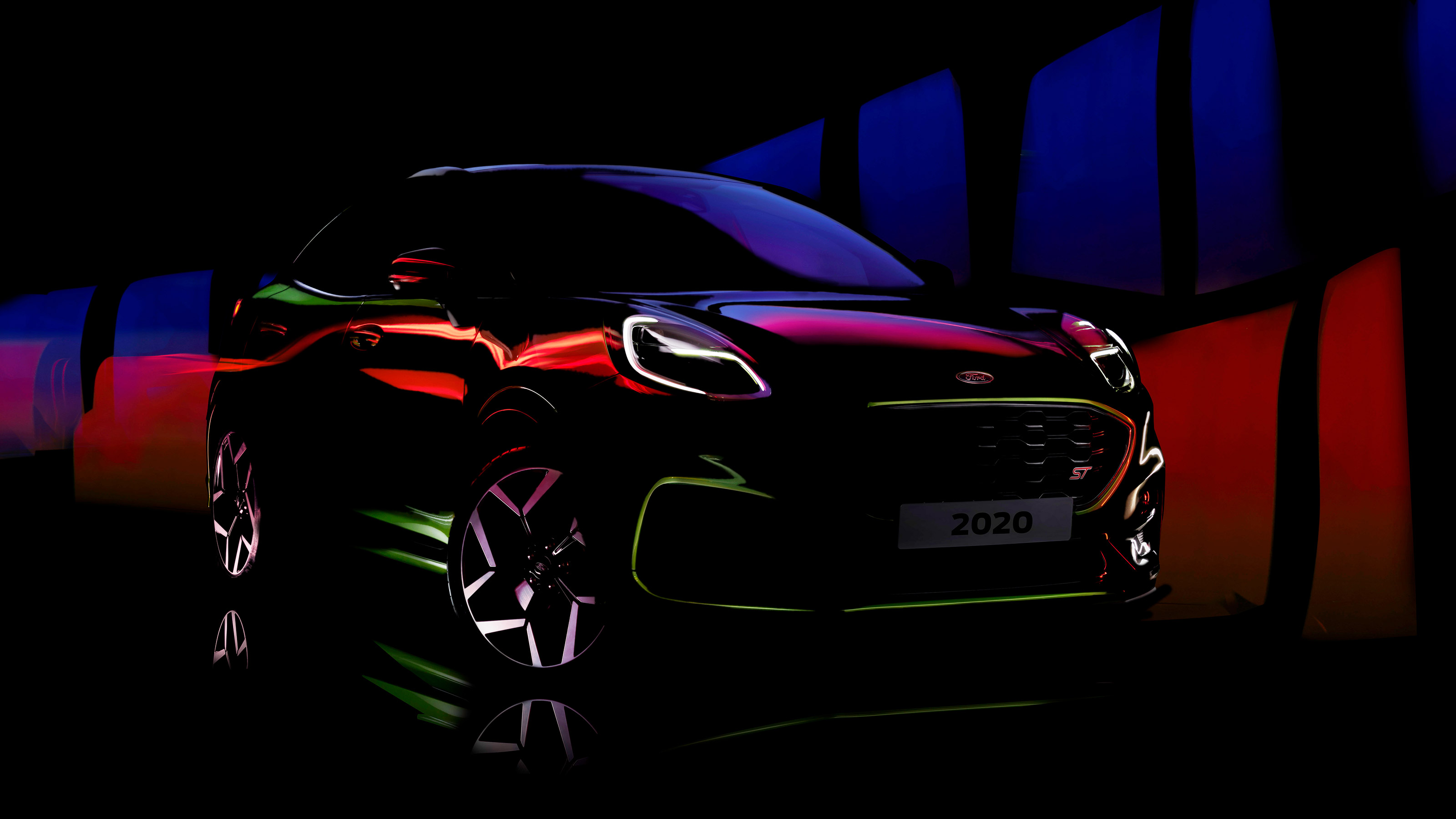 Ford Puma ST teased on social media ahead of launch
