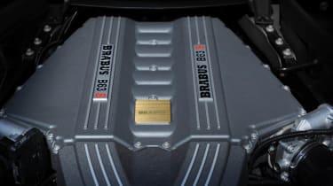 Brabus SLS AMG Roadster engine