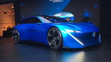 Peugeot Instinct Concept Geneva front three quarter