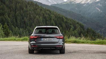 Audi S4 TDI review -  Avant rear