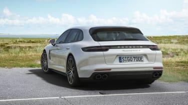Porsche Panamera Turbo S E-Hybrid Sport Turismo - rear quarter static