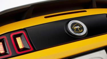 2013 Ford Mustang Boss 302 Laguna Seca badge