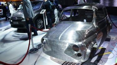Fiat 500 sculpture: Paris motor show 2014