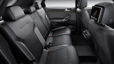 VW CrossBlue coupe rear seats