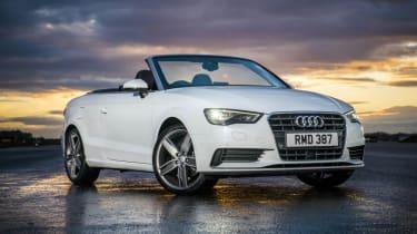 Audi A3 Cabriolet white