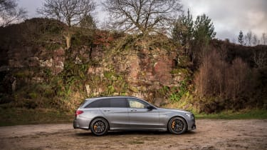 Mercedes-AMG C63 S Estate 2021 – side static