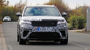 Range Rover Velar SVR proto - front