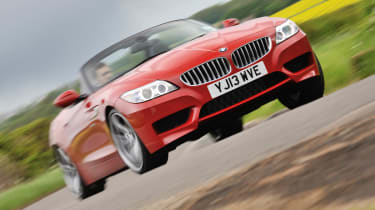 2013 BMW Z4 sDrive35i red front