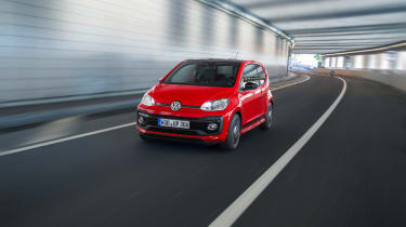 Volkswagen Up GTI 2018 tunnel