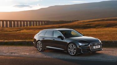 Audi A6 Estate S-Line - front quarter