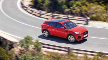 Jaguar E-Pace - driving high 3