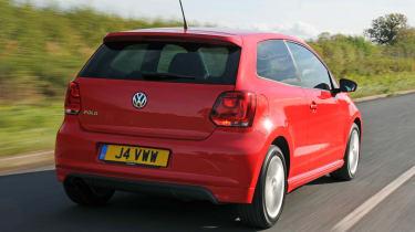 Volkswagen Polo R-line rear view