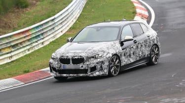 2020 BMW 1 Series spied