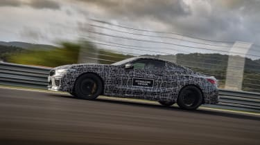 BMW M8 prototype - side tracking\