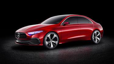 Mercedes-Benz Concept A Sedan front three quarters