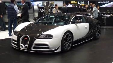 Geneva tuners: Mansory Veyron