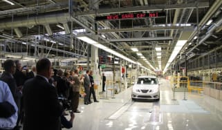 Saab production re-started