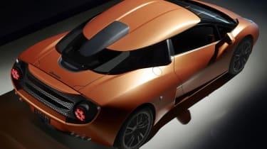 Lamborghini 5-95 Zagato pictures and details