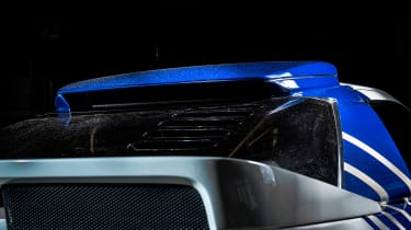 Ford RS200 - rear spoiler