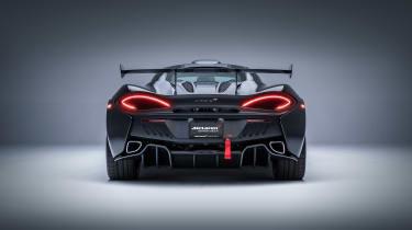 McLaren MSO X – rear