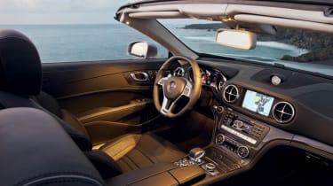 2012 Mercedes-Benz SL63 AMG interior