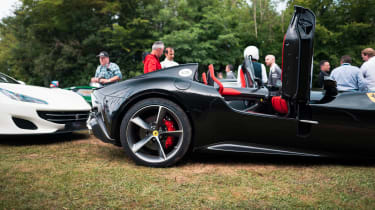 Ferrari Monza SP2 Goodwood FoS front side