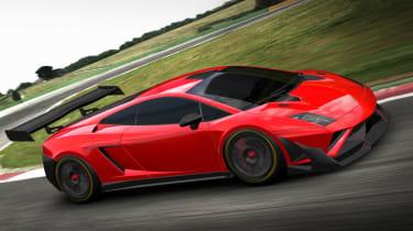 Lamborghini Gallardo GT3 car