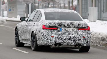 BMW M3 SPY - rear quarter