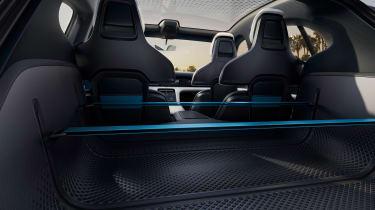 Porsche Mission E Turismo concept - seats