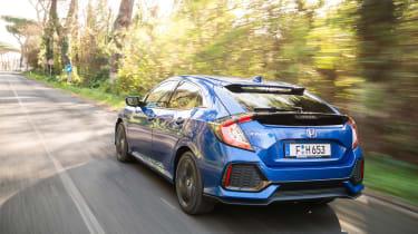 Honda Civic 1.6 i-DTEC – rear quarter
