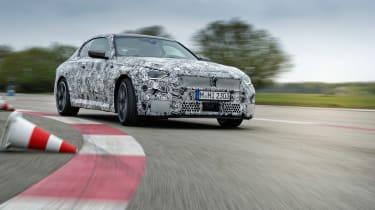 BMW M240i prototype – left cornering