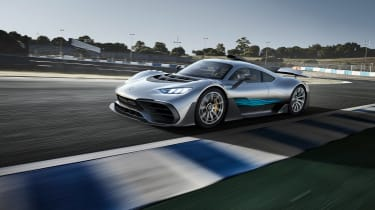 Mercedes-AMG Project One - driving front