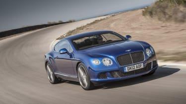 Bentley Continental GT Speed updated