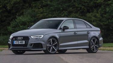 Audi RS3 Saloon - front three quarter