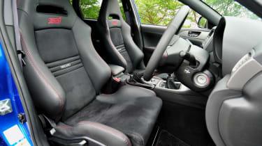 Subaru Impreza WRX STi Spec C interior