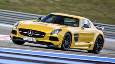 2013 Mercedes SLS AMG Black Series front