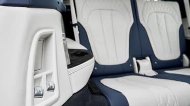 BMW X7 - rear seats