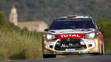 WRC Spain Ostberg