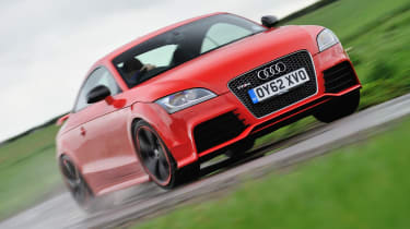 2013 Audi TT RS Plus red front