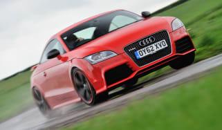 2013 Audi TT RS Plus red front