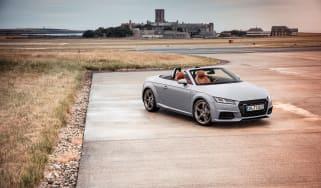 Audi TT facelift - front quarter