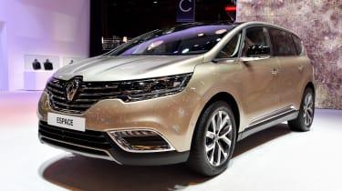Renault Espace: Paris motor show 2014