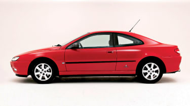 Peugeot 406 Coupe – side