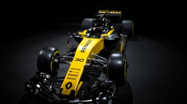 Renault Sport R.S.17 2017 Formula One car front
