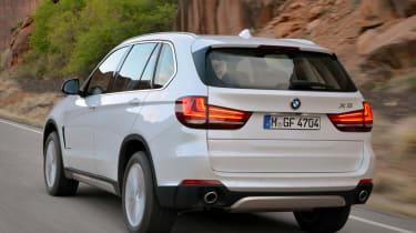 New 2013 BMW X5 white rear
