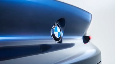 BMW 8-series concept - rear badge