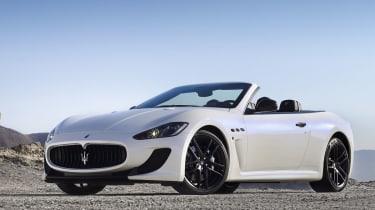 Maserati GranCabrio revealed