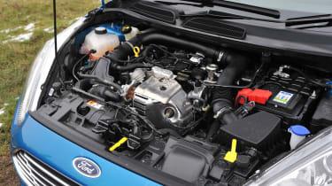 2013 Ford Fiesta Ecoboost 1-litre three-cylinder engine